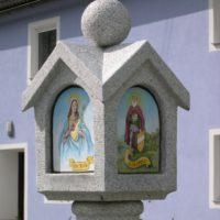 Bildstock: Herz Maria & Hl. Leopold