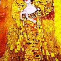 Reproduktion: Klimt – Adele Bloch-Bauer I