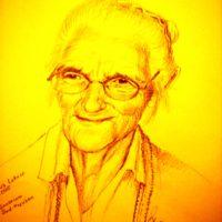 Portrait der Großmutter
