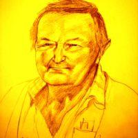Portrait Großvater