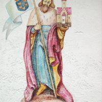 Fassade: Heiliger Leopold