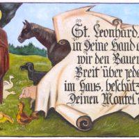 Fassade: Heiliger Leonhard