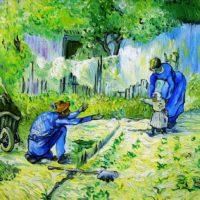 Reproduktion: Van Gogh – Die ersten Schritte