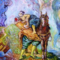 Reproduktion: Van Gogh – Der barmherzige Samariter