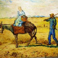 Reproduktion: Van Gogh – Morgen, zur Arbeit zu gehen