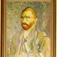Reproduktion: Van Gogh – Selbstbildnis
