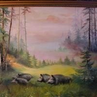 Wildschweine im Sommer